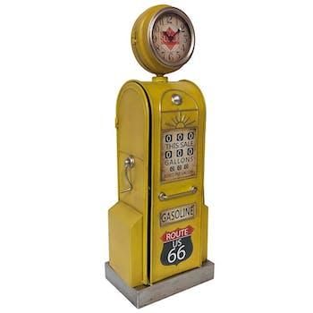 Horloge à poser vintage pompe à essence