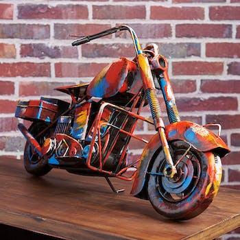 Objet déco à poser moto