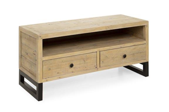 Petit meuble tv en bois recyclé AUCKLAND
