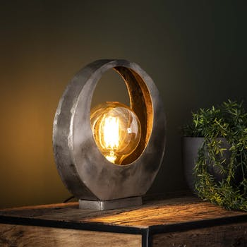 Lampe décorative lune TRIBECA