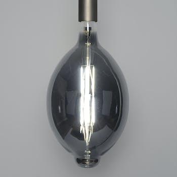 Ampoule led ovale gris fumé filament 33 cm E27