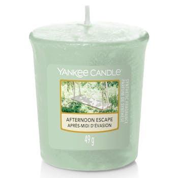 Après-midi d'évasion bougie parfumée votive YANKEE CANDLE