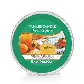Après-midi en plein air cire parfumée Easy Melt Cup YANKEE CANDLE