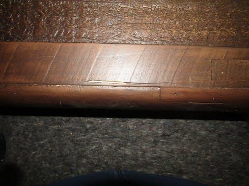 Banc bois recyclé brun 140 cm QUEENSTOWN