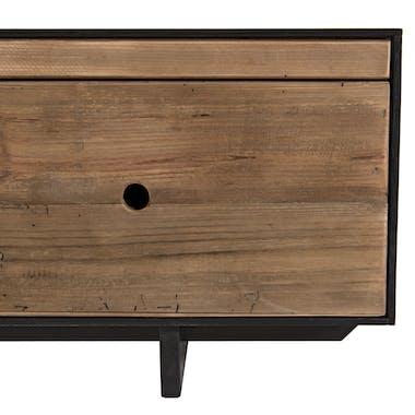 Banc tv bois recyclé pin CRACOVIE