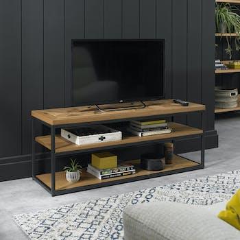 Banc tv en bois AUSTIN