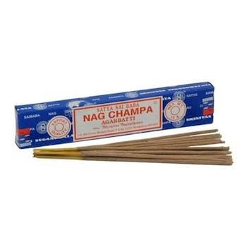 Bâtons d'encens traditionnels Nag Champa