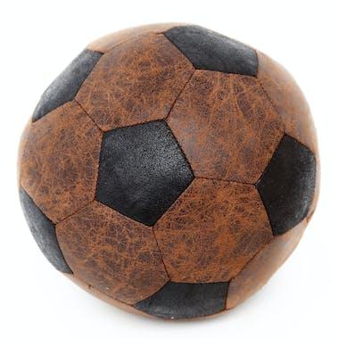 Bloc-Porte Ballon de Football en tissu façon vieilli D20cm