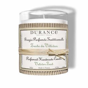 Bougie parfumée Zeste de Vétiver DURANCE