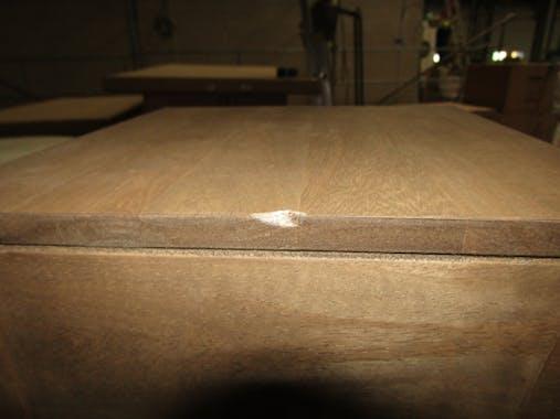 Bout de canapé chevet hévéa 25x25x55cm OLGA