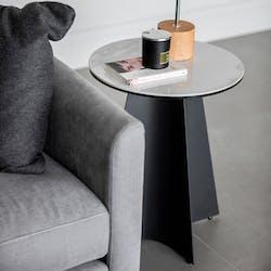 Bout de canapé design céramique VERONE