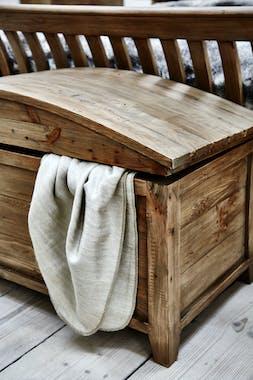 Bout de lit coffre en bois recyclé BELFAST
