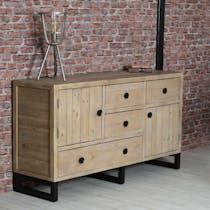 Buffet de salon en bois recyclé AUCKLAND