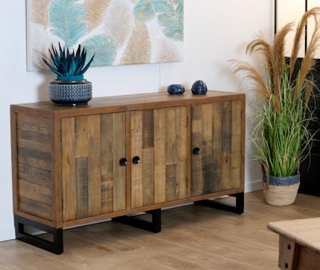 Buffet en bois recyclé 3 portes BRISBANE