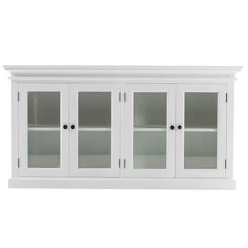 Buffet vitré blanc ROYAN