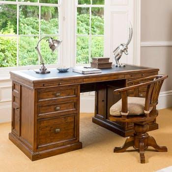 Bureau en bois recyclé OXFORD