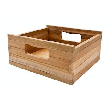 Caisse bois de teck (lot de 3) ROYAN
