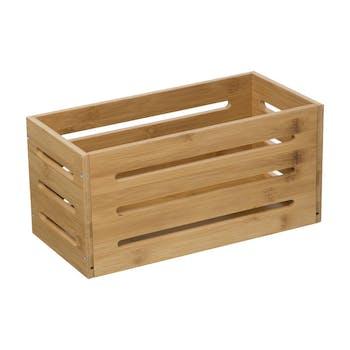 Caisse de rangement en bambou 15x31