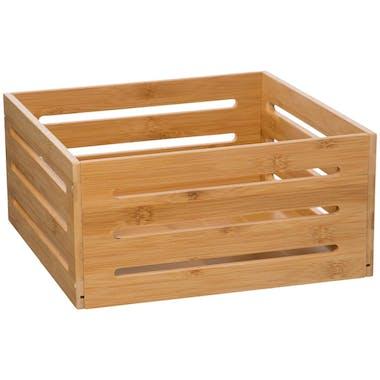 Caisse de rangement en bambou 31x15