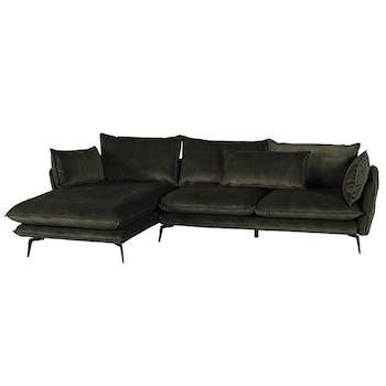 Canapé d'angle avec retour droit MALMOE