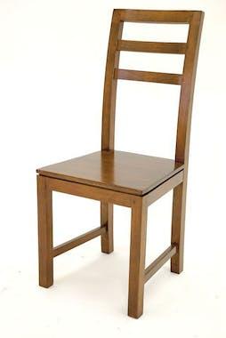 Chaise classique hévéa massif HELENA