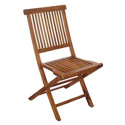 Chaise de jardin en teck huilé 90cm MACAO