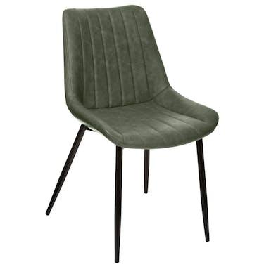 Chaise de table kaki (lot de 2) GOTEBORG