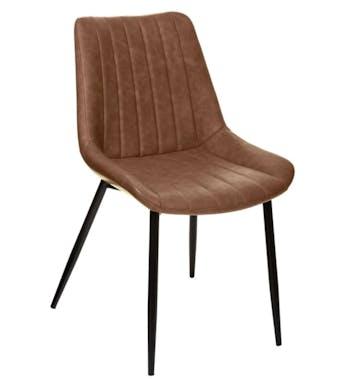 Chaise de table marron (lot de 2) GOTEBORG