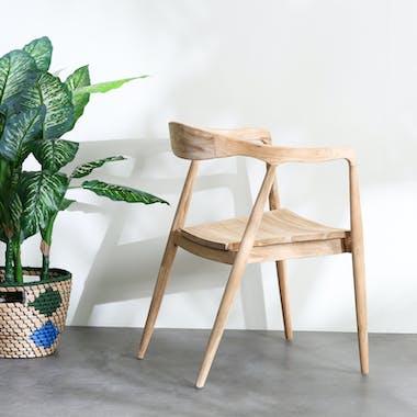 Chaise design bois de teck