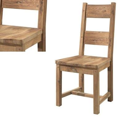 Chaise en chêne massif FJORD
