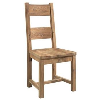 Chaise en chêne massif FJORD (lot de 2)