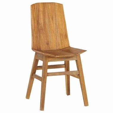 Chaise en teck naturel avec poignée ONTARIO