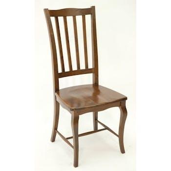 Chaise galbée hévéa TRADITION