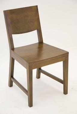 Chaise moderne hévéa OLGA