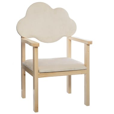 Chaise pour enfant nuage