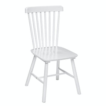 Chaise scandinave blanche (lot de 2) GOTEBORG
