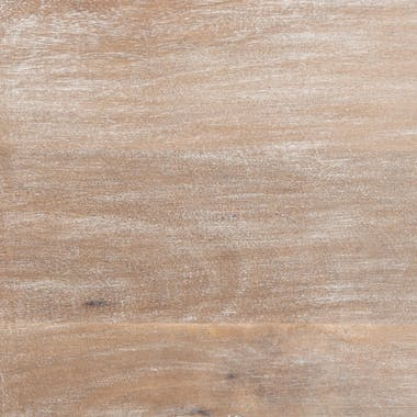 Coffre de rangement manguier sculpté réf. 30022105