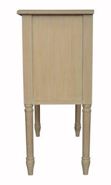 Commode bois massif 2 tiroirs HAMBOURG ref. 30020695