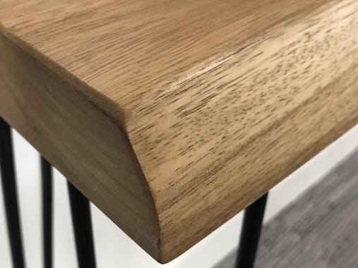 Console bois massif naturel 120 cm HAWAI