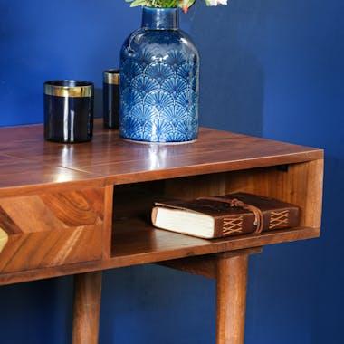 Console de chambre en bois d'acacia EDIMBOURG