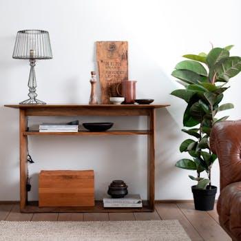 Console d'entrée bois de manguier FENI