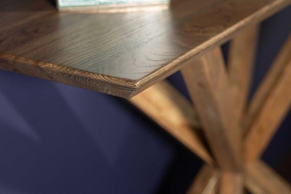 Console en bois de chêne moderne MANHATTAN