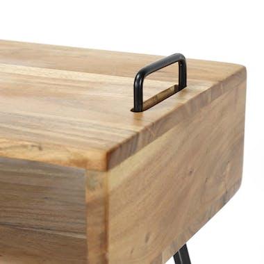Console scandinave bois massif 115 cm MELBOURNE