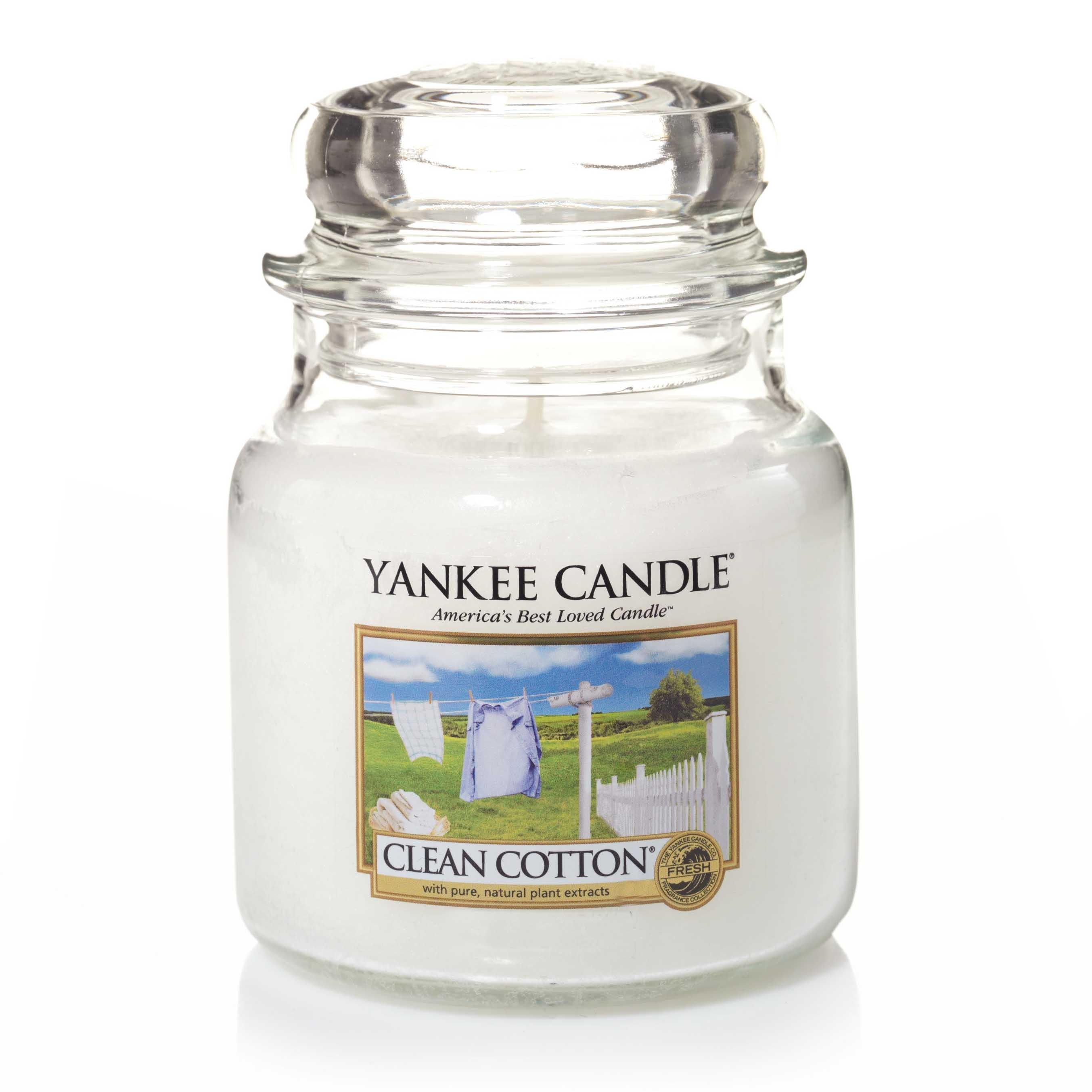 Collection Farmers Market Yankee Candle bougie jarre parfum/ée taille moyenne Senteur Ch/âtaigne dor/ée