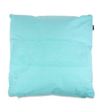 Coussin bleu turquoise FRESH