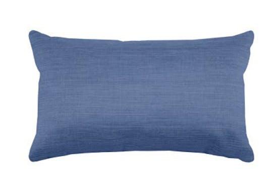 Coussin uni bleu marine 30x50cm BEA