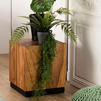 Cube en bois exotique OTTAWA
