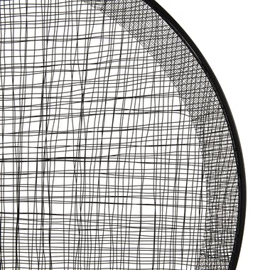 Décoration murale abstraite forme ronde BANGALORE