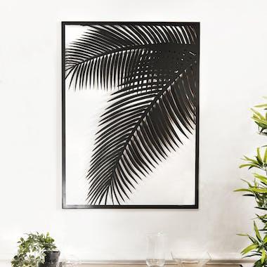 Décoration murale en métal palmier BANGALORE