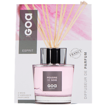 Diffuseur de parfum Esprit Poudre de Soie CLEM GOA 200ml